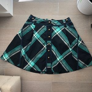 Adorable Plaid Fei Skirt from Anthropologie
